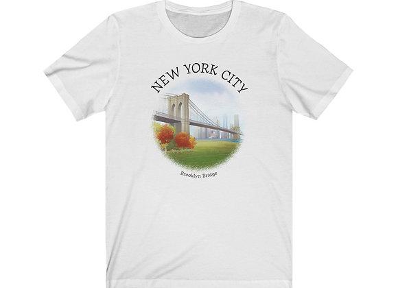 Brooklyn Bridge - Unisex Short Sleeve Tee