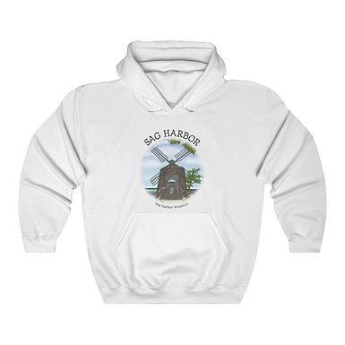 Sag Harbor Windmill Unisex Hooded Sweatshirt