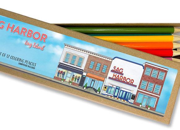 Sag Harbor Coloring Pencil Set
