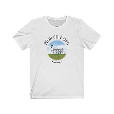 Horton Lighthouse - Unisex Short Sleeve Tee