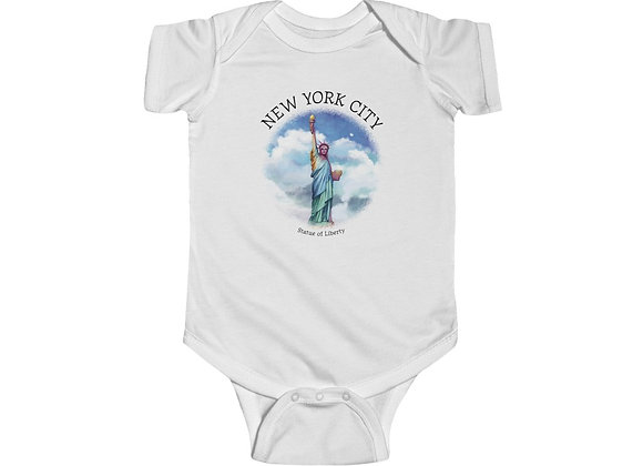 Statue of Liberty Onesie