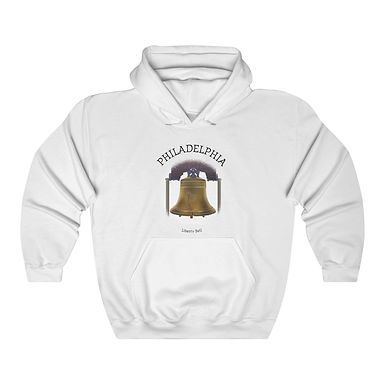 Liberty Bell Unisex Hooded Sweatshirt