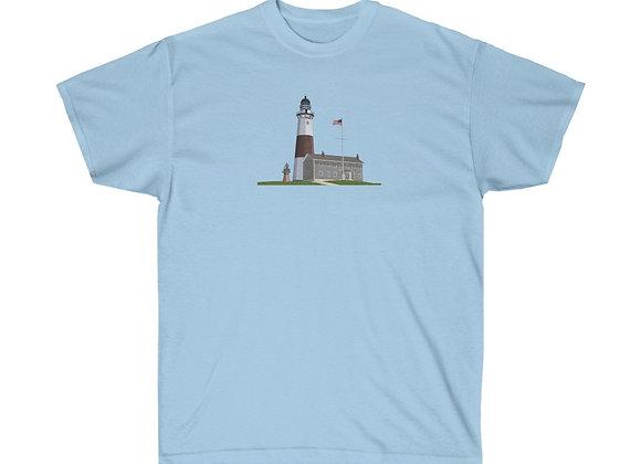 Montauk Lighthouse - Unisex Cotton Tee
