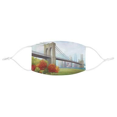 Brooklyn Bridge Fabric Face Mask