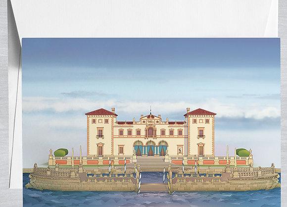 Vizcaya Museum Notecard