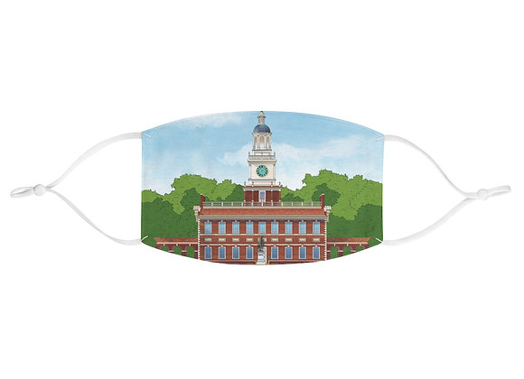 Independence Hall Face Mask