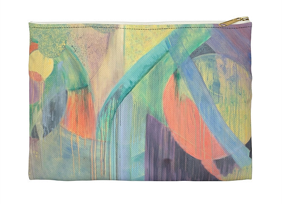 Slashed Accessory Pouch - by Helen Weinstein