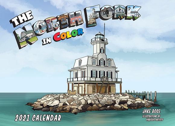 The North Fork In Color Calendar