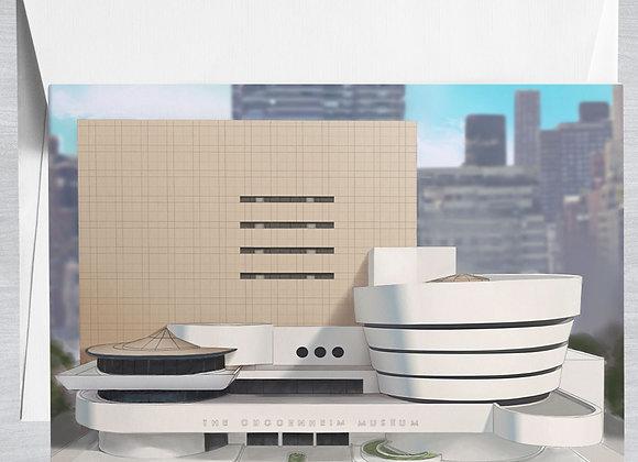Guggenheim Museum Notecard