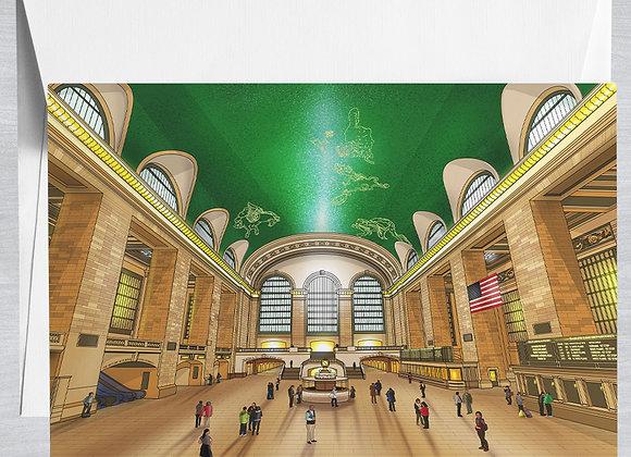 Grand Central Terminal Notecard
