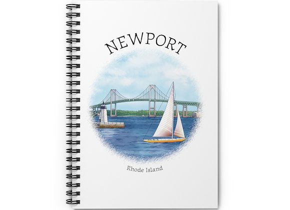 Newport RI Spiral Notebook