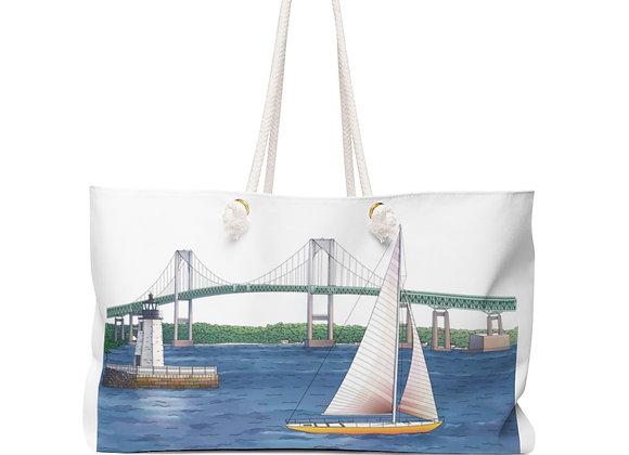 Weekender Bag - Newport bridge