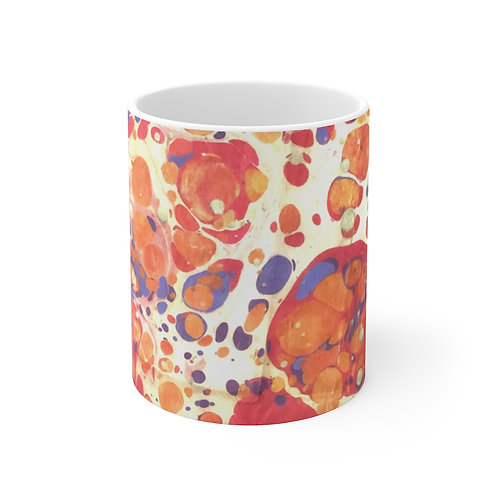 "Mug 11oz - ""Lava Lamp"" by Amy Worth"