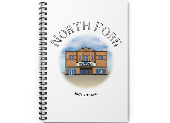 Suffolk Theater Spiral Notebook