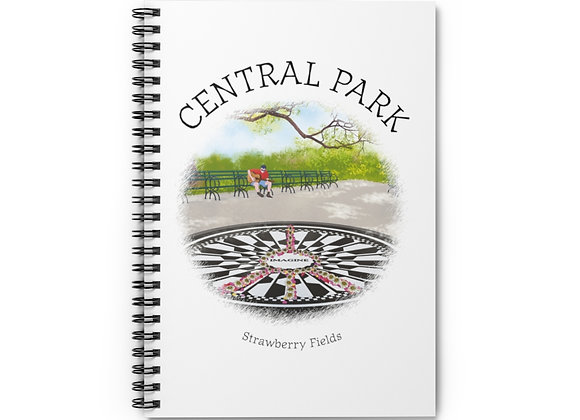 Strawberry Fields Spiral Notebook