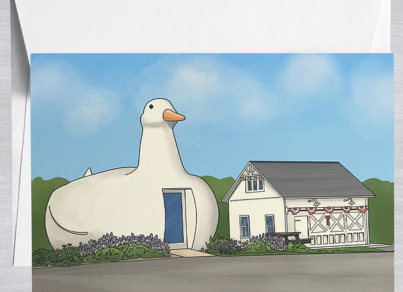 Big Duck Notecard