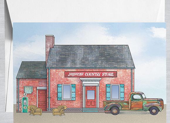 Jamesport Country Store Notecard