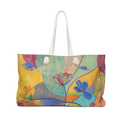 "Weekender Bag - ""Kaleidoscope"" by Helen M. Weinstein"