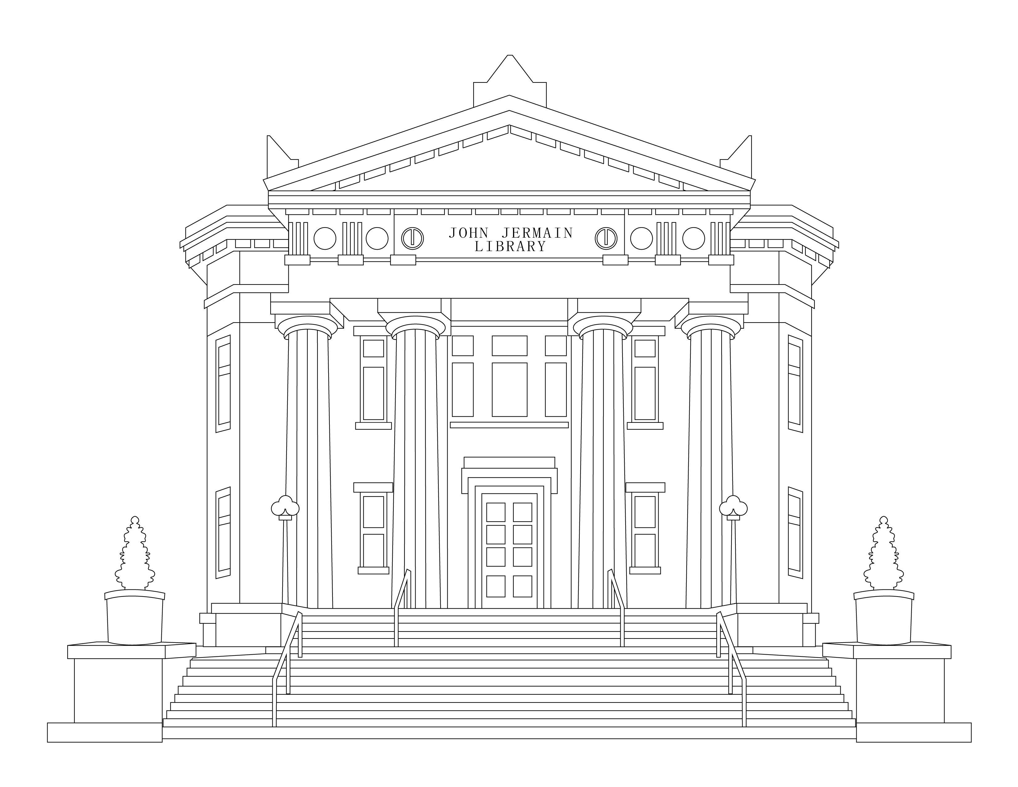 Jermain Library