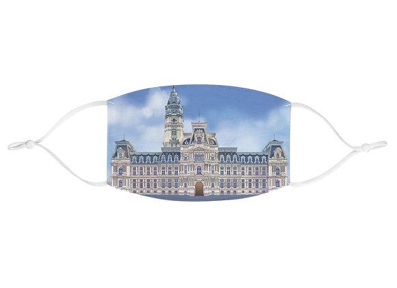 Philadelphia City Hall Fabric Face Mask