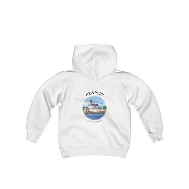 Rose Island Lighthouse Youth Sweatshirt