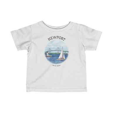 Newport RI Infant Tee