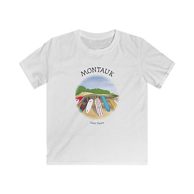 Montauk Ditch Plains Kids Softstyle Tee