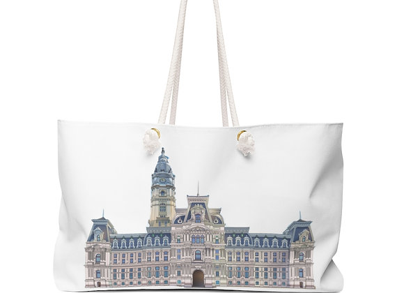 Weekender Bag - Philly City Hall