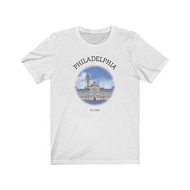 Philadelphia City Hall - Unisex Short Sleeve Tee