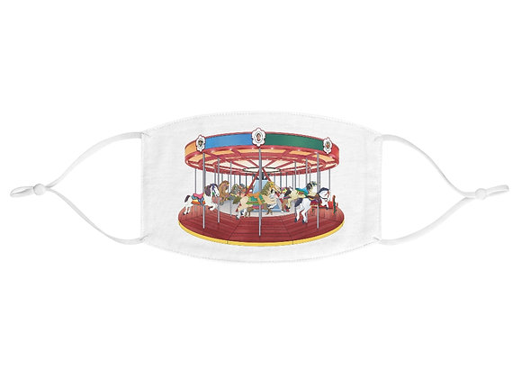Greenport Carousel - Fabric Face Mask