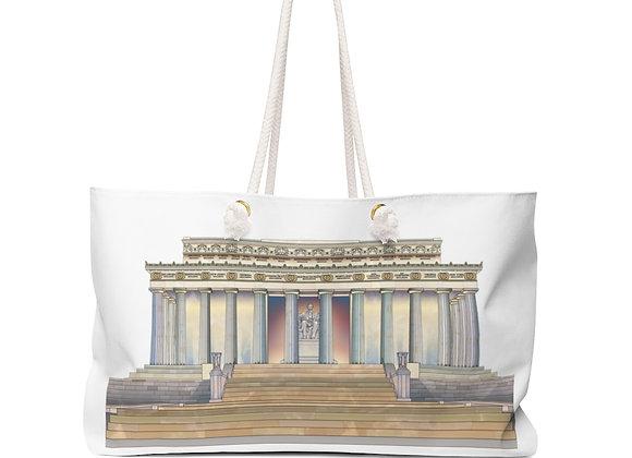 Weekender Bag - Lincoln Memorial