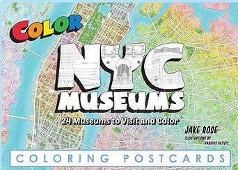NYC Museum Postcard Set