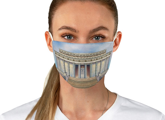 Lincoln Memorial Face Mask