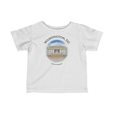 Lincoln Memorial Infant Tee