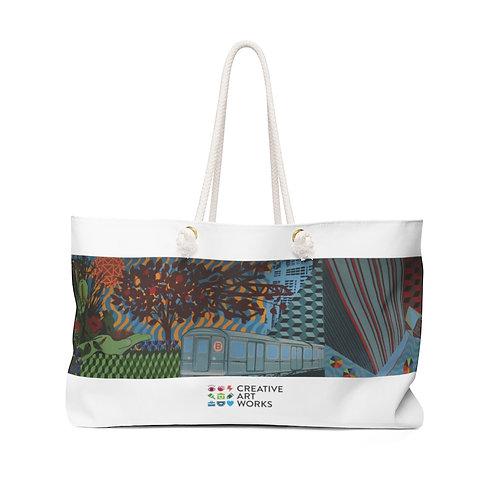 """Weekender Bag - """"Gardens of Steel"""""""