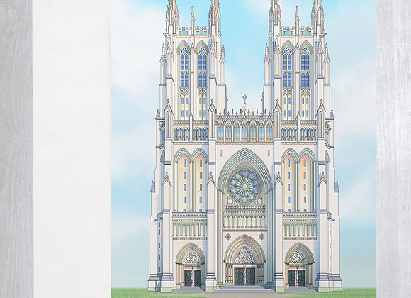 Washington National Cathedral Notecard