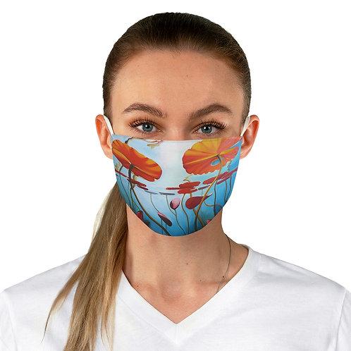"Face Mask - ""Lillies"" by Deborah Linnek"