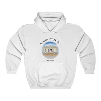 Lincoln Memorial Unisex Hooded Sweatshirt