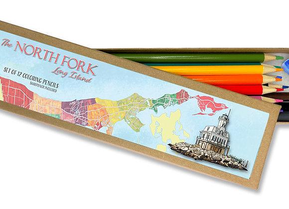 North Fork Coloring Pencil Set