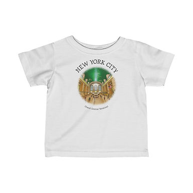 Grand Central Terminal Infant Tee