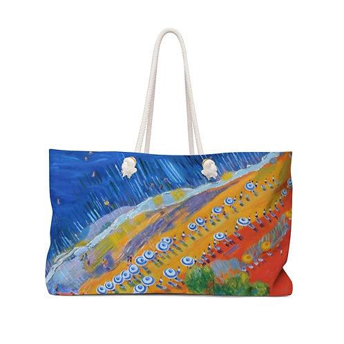 "Weekender Bag - ""Seagulls View 2"" by Cheryl Kramer"