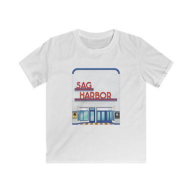 Sag Harbor Cinemas Kids Softstyle Tee
