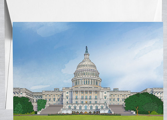 US Capitol Notecard