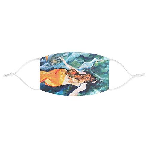 "Face Mask - ""Lianes Mermaid"" by Isabelle Haran-Leonardi"
