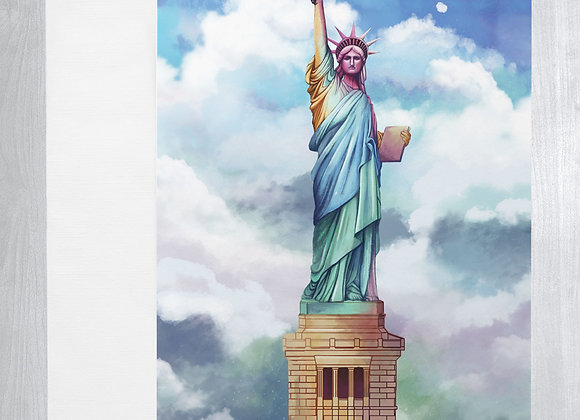 Statue of Liberty Notecard