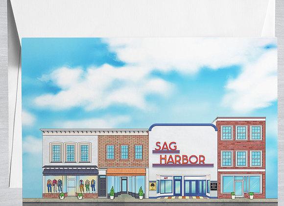 Sag Harbor Street Notecard