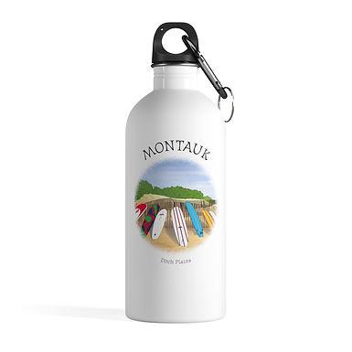 Montauk Ditch Plains Water Bottle
