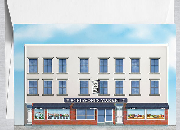 Schiavoni's Market Notecard