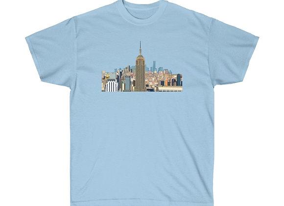 Empire State Building - Unisex Cotton Tee