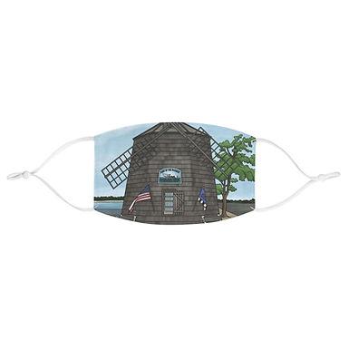 Sag Harbor Windmill Face Mask